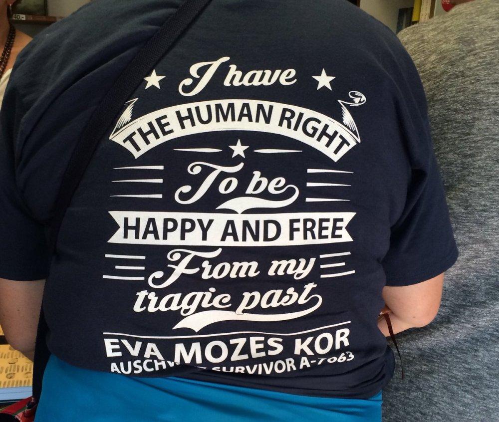 Auschwitz trip 2017 - tshirt