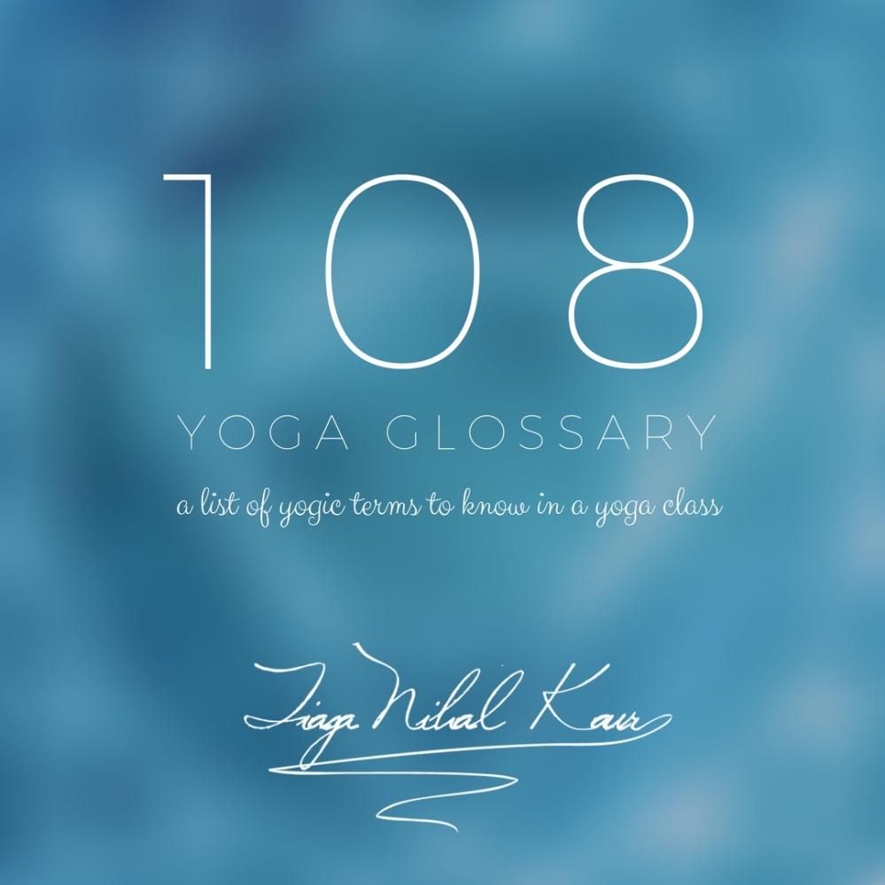 108 Yoga Terms