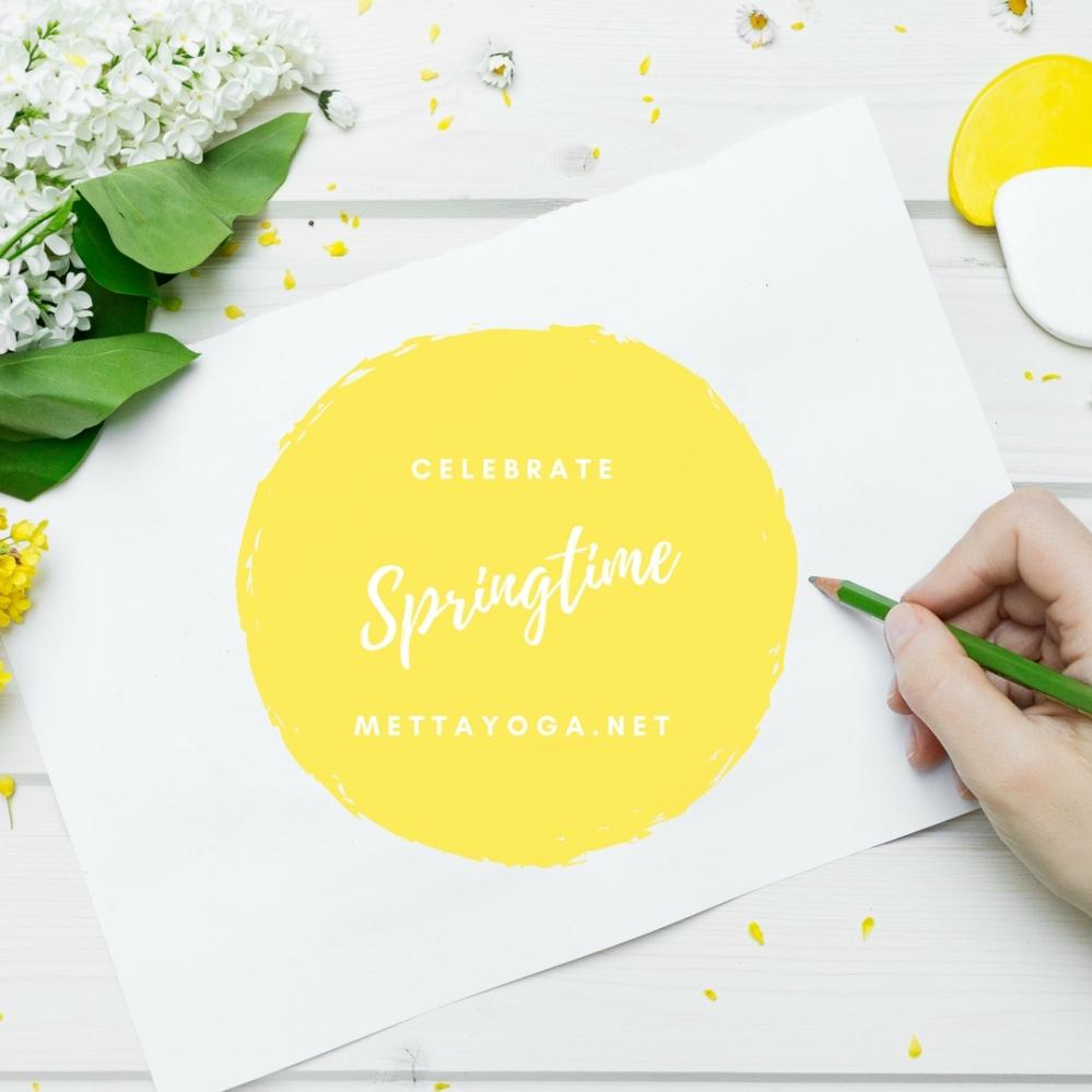 spring, mindfulness, yoga, mettayoga, springtime, meditation, nature
