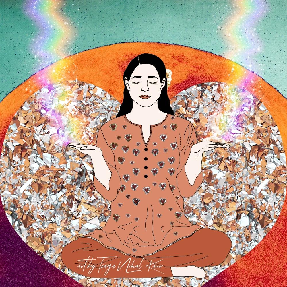 Kundalini Yoga, Metta Yoga, Kundalini, Yoga, Meditation, Mindfulness, Tiaga Nihal Kaur, Yoga Art, Kundalini Art, Siri Gaitri Mantra, Ra Ma Da Sa, Healing,
